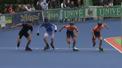 MediaID=38949 - Netherland championship Track+Road - Senior men, 500m semifinal1