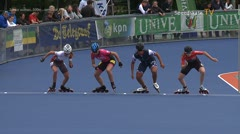 MediaID=38950 - Netherland championship Track+Road - Senior women, 500m semifinal1