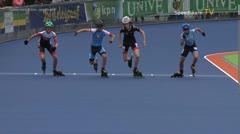 MediaID=38951 - Netherland championship Track+Road - Cadet men, 500m semifinal1