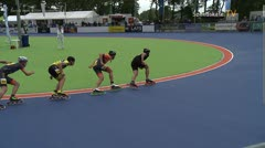 MediaID=38953 - Netherland championship Track+Road - Senior men, 500m quaterfinal4