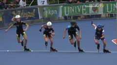 MediaID=38956 - Netherland championship Track+Road - Junior B women, 500m semifinal2
