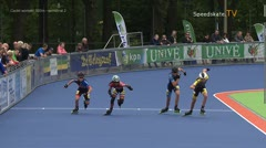 MediaID=38957 - Netherland championship Track+Road - Cadet women, 500m semifinal2