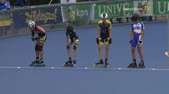 MediaID=38958 - Netherland championship Track+Road - Cadet women, 500m final