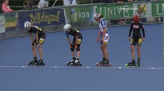 MediaID=38962 - Netherland championship Track+Road - Junior B women, 500m semifinal1