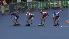 MediaID=38964 - Netherland championship Track+Road - Junior B men, 500m semifinal1