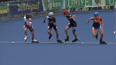 MediaID=38966 - Netherland championship Track+Road - Junior A women, 500m semifinal1