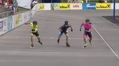 MediaID=39002 - 13.Int SpeedskateKriterium/Europacup Wörgl - Senior women, 500m semifinal2