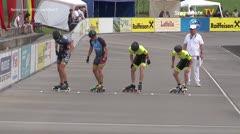 MediaID=39005 - 13.Int SpeedskateKriterium/Europacup Wörgl - Senior men, 500m semifinal2