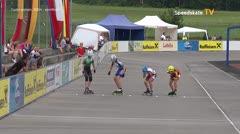 MediaID=39038 - 13.Int SpeedskateKriterium/Europacup Wörgl - Cadet women, 500m semifinal2