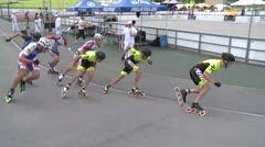MediaID=39052 - 13.Int SpeedskateKriterium/Europacup Wörgl - Senior men, 1.000m semifinal1