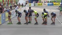 MediaID=39053 - 13.Int SpeedskateKriterium/Europacup Wörgl - Senior men, 1.000m semifinal2