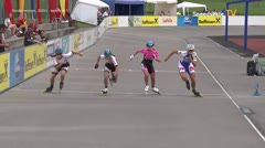 MediaID=39055 - 13.Int SpeedskateKriterium/Europacup Wörgl - Senior women, 500m semifinal1