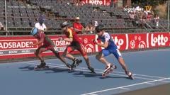 MediaID=39073 - EuropeanChampionships  Roller Speedskating - Senior Men, 500m TeamSprint semifinal2