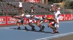 MediaID=39075 - EuropeanChampionships  Roller Speedskating - Senior Men, 500m TeamSprint semifinal2