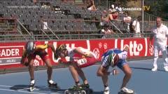 MediaID=39077 - EuropeanChampionships  Roller Speedskating - Senior Men, 500m TeamSprint semifinal2