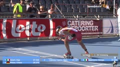 MediaID=39089 - EuropeanChampionships  Roller Speedskating - Junior Ladies, 300m time final