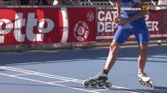 MediaID=39092 - EuropeanChampionships  Roller Speedskating - Junior men, 300m time final