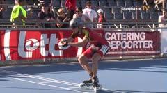 MediaID=39109 - EuropeanChampionships  Roller Speedskating - Junior men, 300m time final