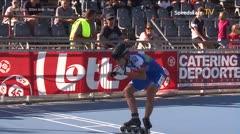 MediaID=39120 - EuropeanChampionships  Roller Speedskating - Youth Men, 300m time final