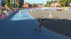 MediaID=39139 - EuropeanChampionships  Roller Speedskating - Junior Ladies, 300m time final