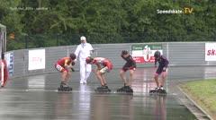 MediaID=39394 - 41. Int. Speedskating Kriterium Gross-Gerau 2019 - Youth Men, 500m semifinal1