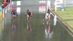 MediaID=39398 - 41. Int. Speedskating Kriterium Gross-Gerau 2019 - Junior women, 500m quaterfinal3