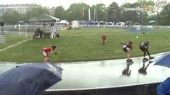 MediaID=39400 - 41. Int. Speedskating Kriterium Gross-Gerau 2019 - Junior women, 500m quaterfinal1