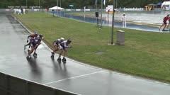 MediaID=39408 - 41. Int. Speedskating Kriterium Gross-Gerau 2019 - Senior men, 500m quaterfinal1