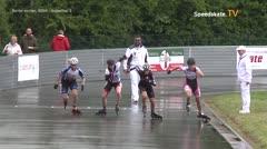 MediaID=39432 - 41. Int. Speedskating Kriterium Gross-Gerau 2019 - Senior women, 500m quaterfinal2