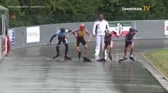 MediaID=39436 - 41. Int. Speedskating Kriterium Gross-Gerau 2019 - Youth Ladies, 500m quaterfinal4