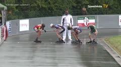 MediaID=39444 - 41. Int. Speedskating Kriterium Gross-Gerau 2019 - Youth Men, 500m quaterfinal3