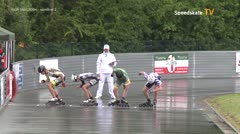 MediaID=39447 - 41. Int. Speedskating Kriterium Gross-Gerau 2019 - Youth Men, 500m semifinal2