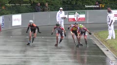 MediaID=39448 - 41. Int. Speedskating Kriterium Gross-Gerau 2019 - Youth Ladies, 500m quaterfinal2