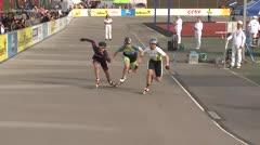 MediaID=39458 - 14.Int SpeedskateKriterium/Europacup Wörgl - Senior women, 500m quaterfinal1