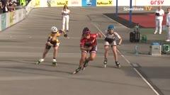 MediaID=39459 - 14.Int SpeedskateKriterium/Europacup Wörgl - Senior women, 500m quaterfinal3