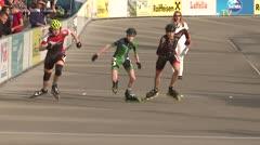 MediaID=39463 - 14.Int SpeedskateKriterium/Europacup Wörgl - Youth Men, 500m quaterfinal3
