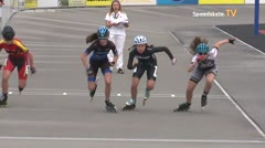 MediaID=39466 - 14.Int SpeedskateKriterium/Europacup W - Youth Ladies, 500m final