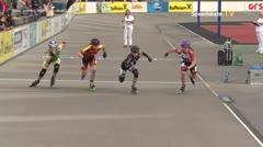 MediaID=39467 - 14.Int SpeedskateKriterium/Europacup Wörgl - Cadet women, 500m semifinal2