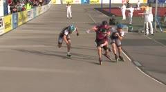 MediaID=39468 - 14.Int SpeedskateKriterium/Europacup Wörgl - Senior women, 500m quaterfinal4