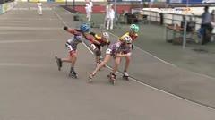 MediaID=39470 - 14.Int SpeedskateKriterium/Europacup Wörgl - Cadet women, 500m semifinal1