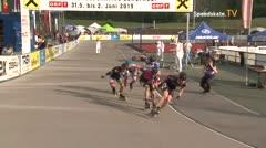 MediaID=39471 - 14.Int SpeedskateKriterium/Europacup Wörgl - Senior men, 500m quaterfinal1