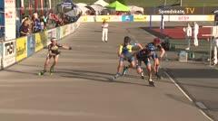 MediaID=39475 - 14.Int SpeedskateKriterium/Europacup Wörgl - Youth Men, 500m quaterfinal1