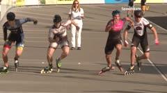 MediaID=39478 - 14.Int SpeedskateKriterium/Europacup Wörgl - Senior men, 500m quaterfinal2