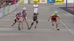 MediaID=39479 - 14.Int SpeedskateKriterium/Europacup Wörgl - Cadet women, 500m final