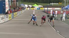 MediaID=39490 - 14.Int SpeedskateKriterium/Europacup Wörgl - Senior men, 500m semifinal2