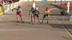 MediaID=39492 - 14.Int SpeedskateKriterium/Europacup Wörgl - Youth Men, 500m quaterfinal2