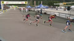 MediaID=39493 - 14.Int SpeedskateKriterium/Europacup W - Youth Ladies, 500m quaterfinal1