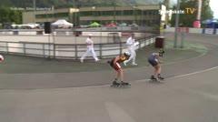 MediaID=39497 - 14.Int SpeedskateKriterium/Europacup Wörgl - Youth Men, 500m quaterfinal4
