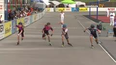 MediaID=39500 - 14.Int SpeedskateKriterium/Europacup Wörgl - Senior women, 500m semifinal2