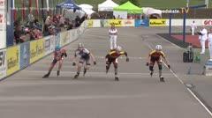 MediaID=39506 - 14.Int SpeedskateKriterium/Europacup Wörgl - Cadet women, 500m quaterfinal4
